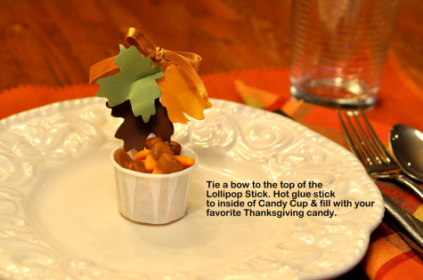 Step 7 Thanksgiving Table Favor Decoration