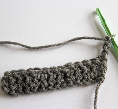 Steps in a Crochet pattern