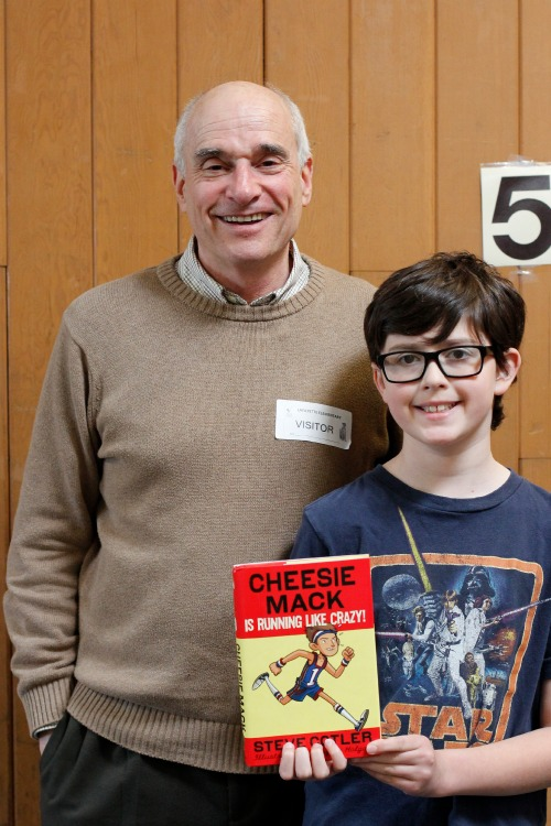 Steve Cotler Author of Cheesie Mack