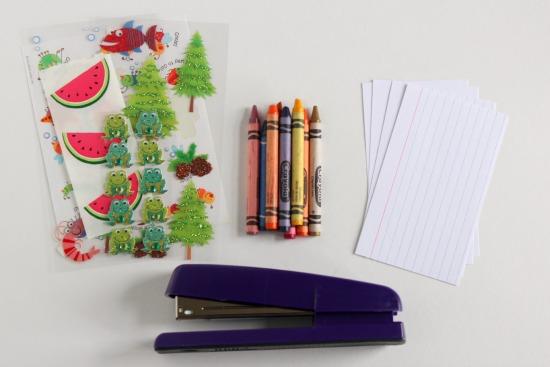 Sticker Story Starter Supplies