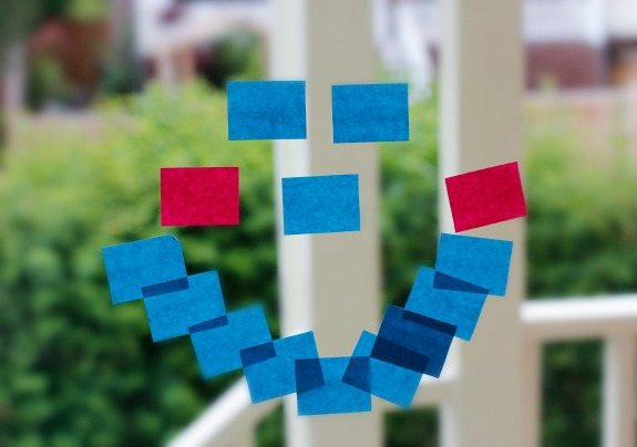 Sticky Note Window Pictures and Shapes