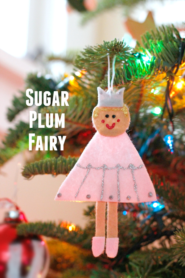 Sugar Plum Fairy Nutcracker Ornaments for the Christmas Tree