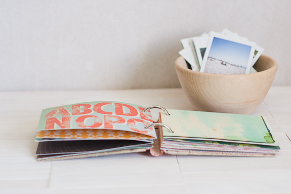 Summer Mini-Album from a Vintage Book Cover by Francine Clouden for Make and Takes-10