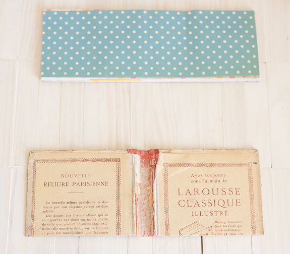Summer Mini-Album from a Vintage Book Cover by Francine Clouden for Make and Takes-2