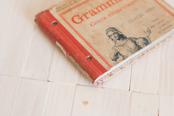 Summer Mini-Album from a Vintage Book Cover by Francine Clouden for Make and Takes-6