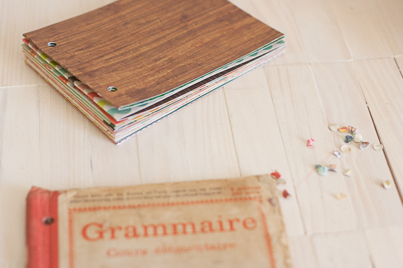 Summer Mini-Album from a Vintage Book Cover by Francine Clouden for Make and Takes-7