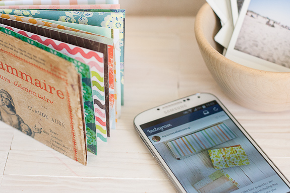 Vintage Book Cover Maker : Make a mini album with vintage book cover and takes