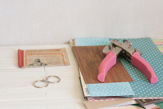 Summer Mini-Album from a Vintage Book Cover by Francine Clouden for Make and Takes