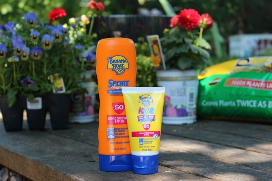 Sunblock for Gardening
