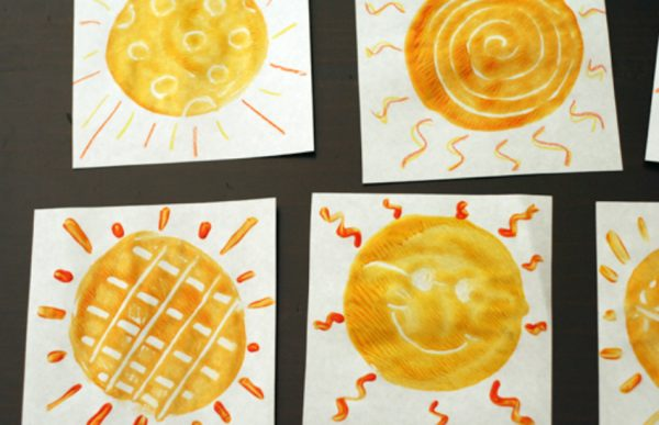 Sunny Summer Monoprints