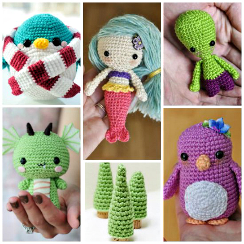 Super Cute Amigurumi Crochet Patterns