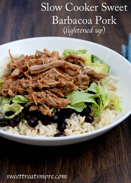 Sweet Barbacoa Pork