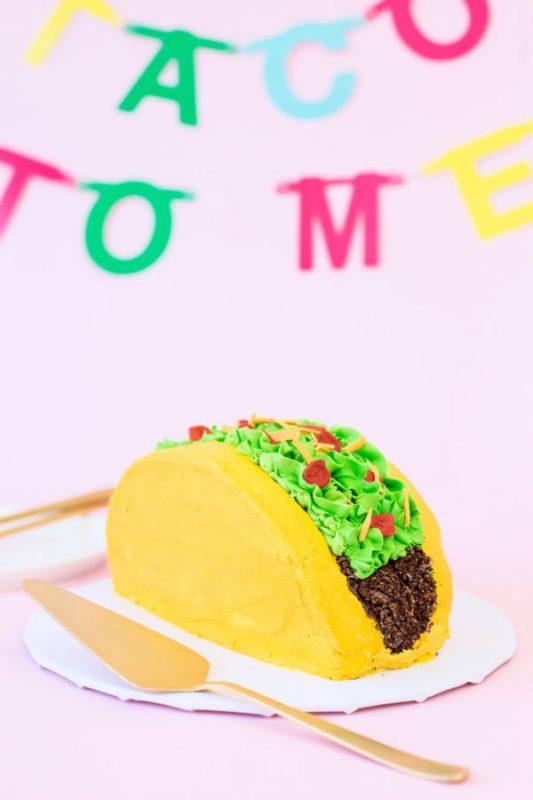 DIY Taco Cake