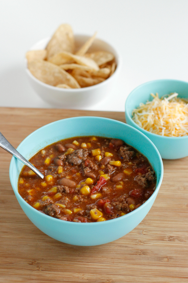 Taco Soup Recipe Toppings