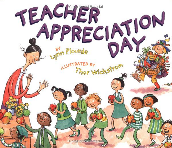 Teacher Appreciation Day Book