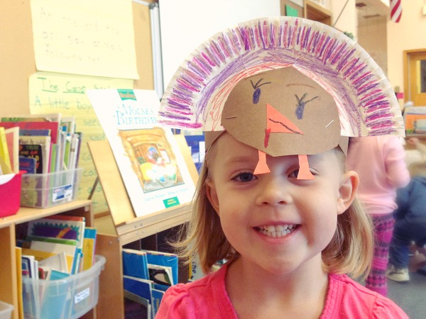 Thanksgiving Paper Plate Turkey Headbands