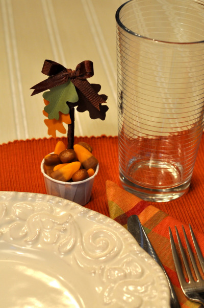Thanksgiving Table Favor Decoration