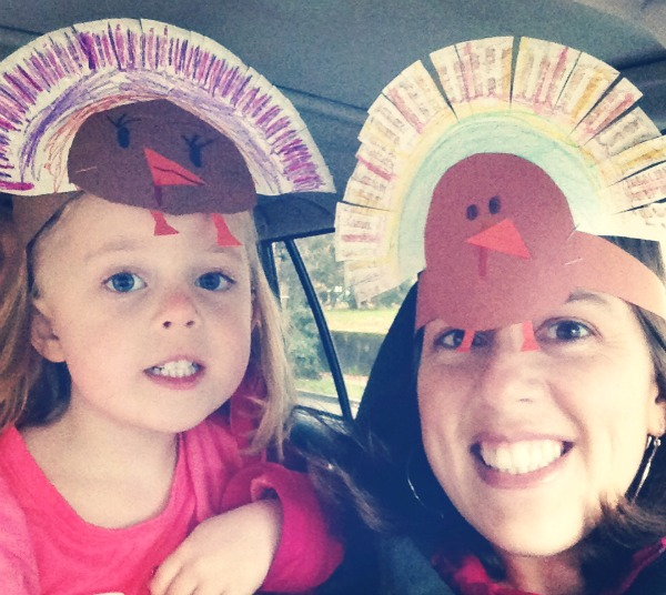 Thanksgiving Turkey Paper Plate Headbands