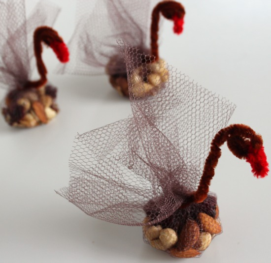 Turkey Table Favors: Turkey Table Favors For Your Thanksgiving Table