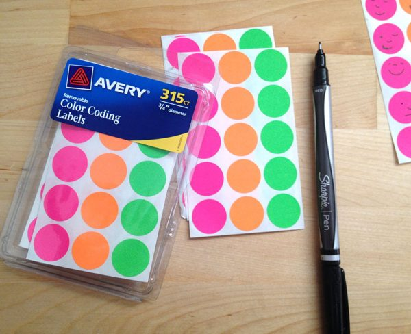 The Anything Sticker Chart supplies