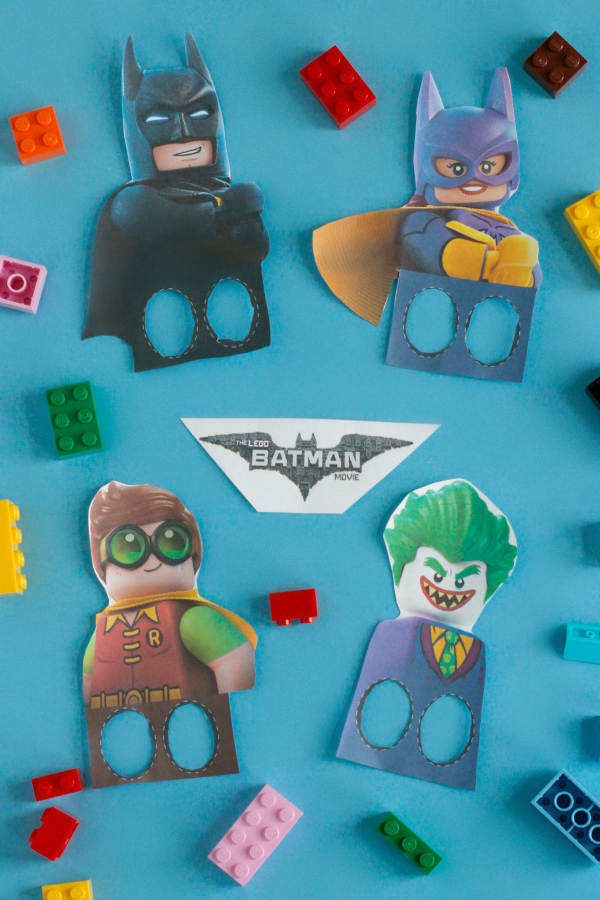 photo about Lego Batman Printable titled LEGO Batman Finger Puppet Printable Deliver and Normally takes