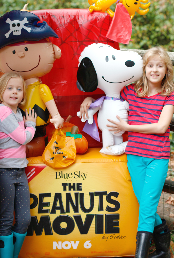The Peanuts Movie at the Pumpkin Patch