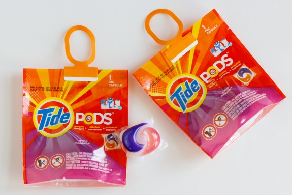 Tide Pods Little Goes a Long Way
