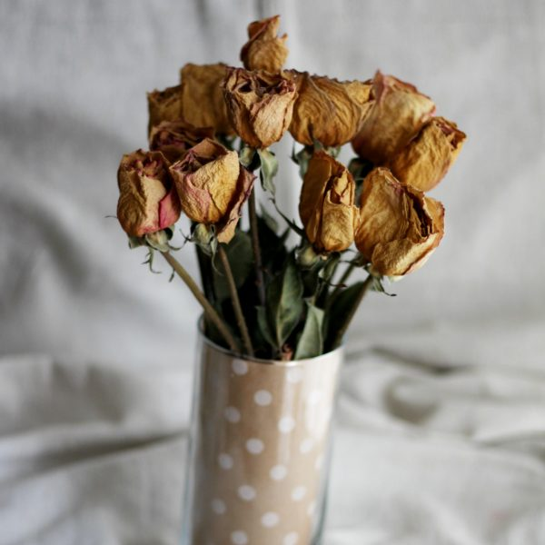 Paper Decor Flower Vase