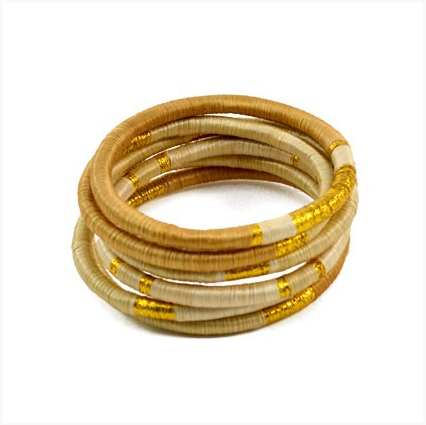 To The Market Gold Bracelets