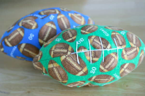 Toddler Fabric Football to Make