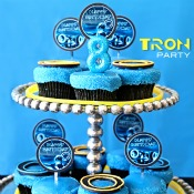 Free Tron Birthday Printables