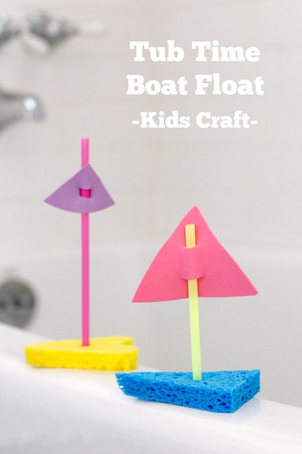 Tub Time Boat Float _Kids Craft_