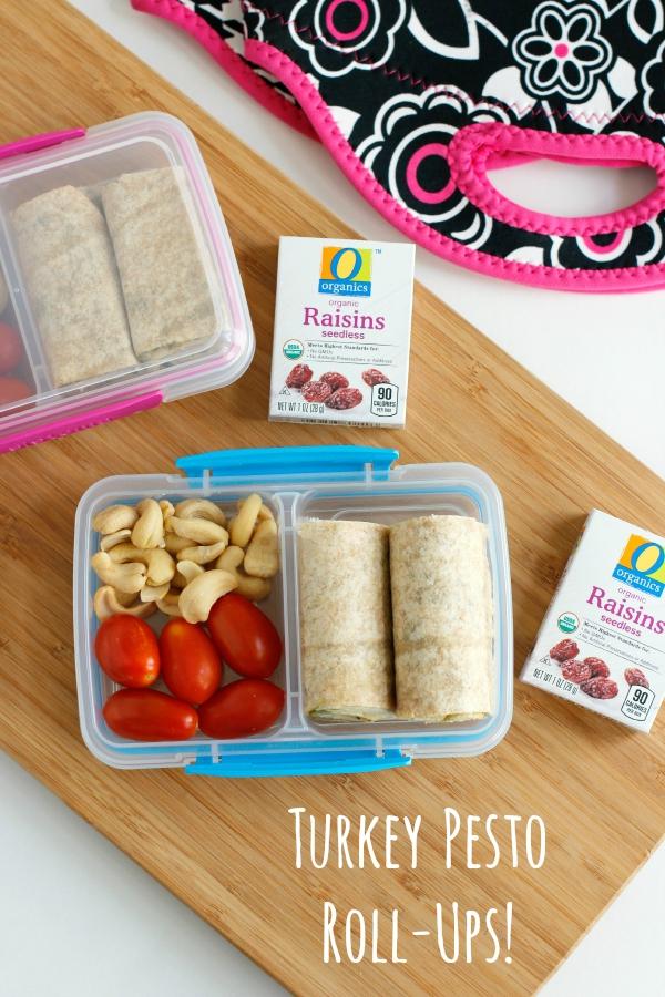 Turkey Pesto Roll-Ups School Lunch Box Ideas