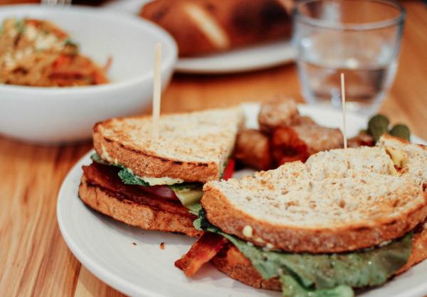 Turkey Sandwich Leftovers