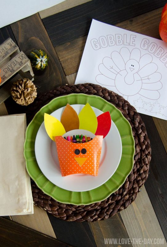 DIY Turkey Boxes