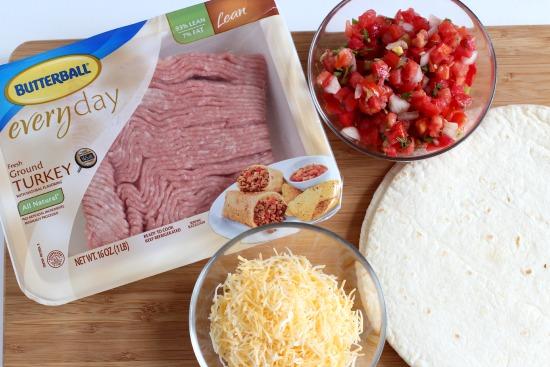 Turkey Taco Ingredients