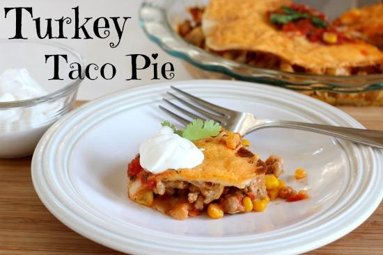 Turkey Taco Pie