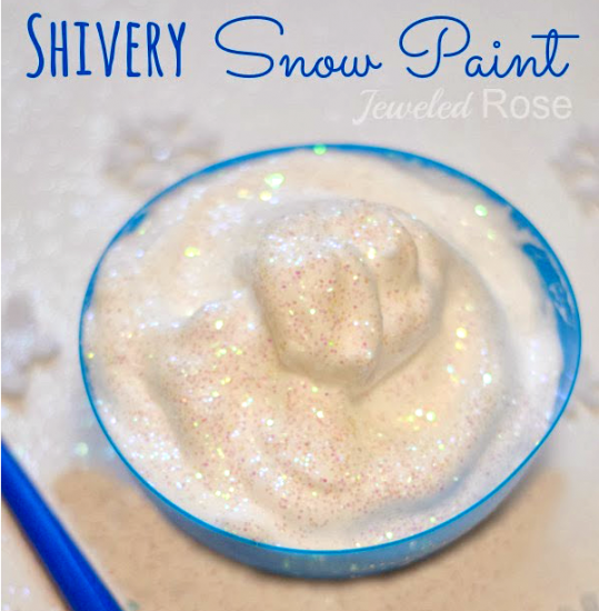Shivery Snow Paint