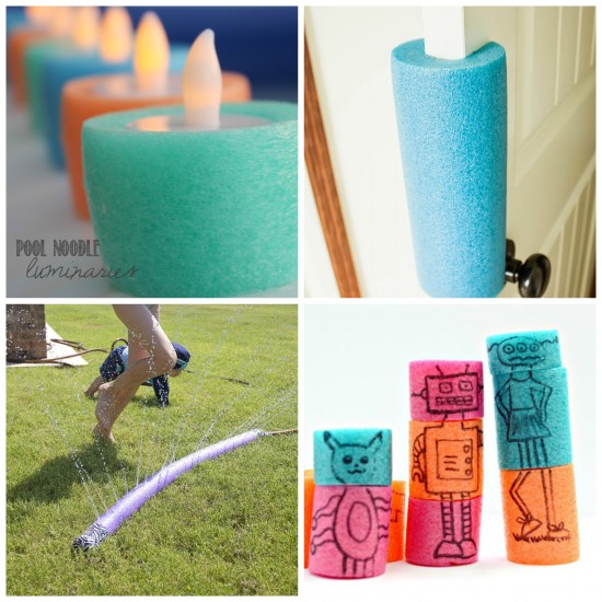 15 Pool Noodle Crafts