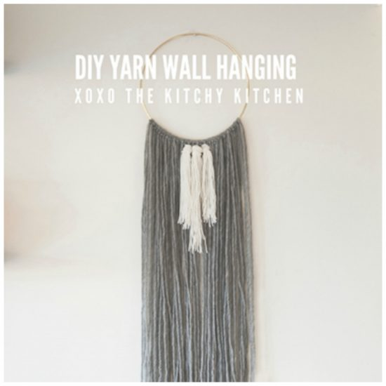 Kitchy Kitchen Decor: 15 Gorgeous Woven Yarn Wall Hangings