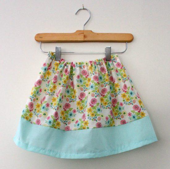 20 Minute Basic Band Skirt