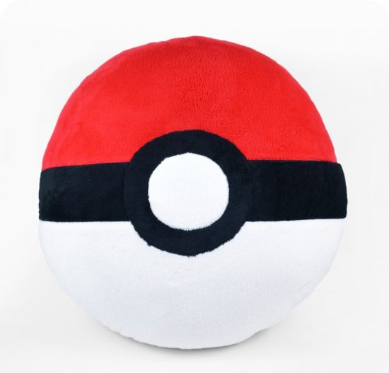 Supersized Pokéball Pillow
