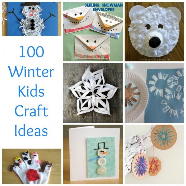100+ Winter Kids Crafts