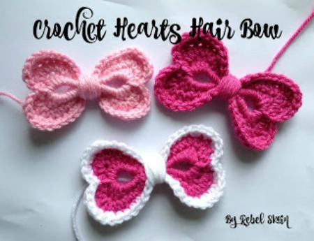 15 Heart Shaped Yarn Projects to Create | Make and Takes