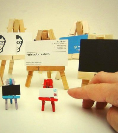 Mini Clothespin Easels