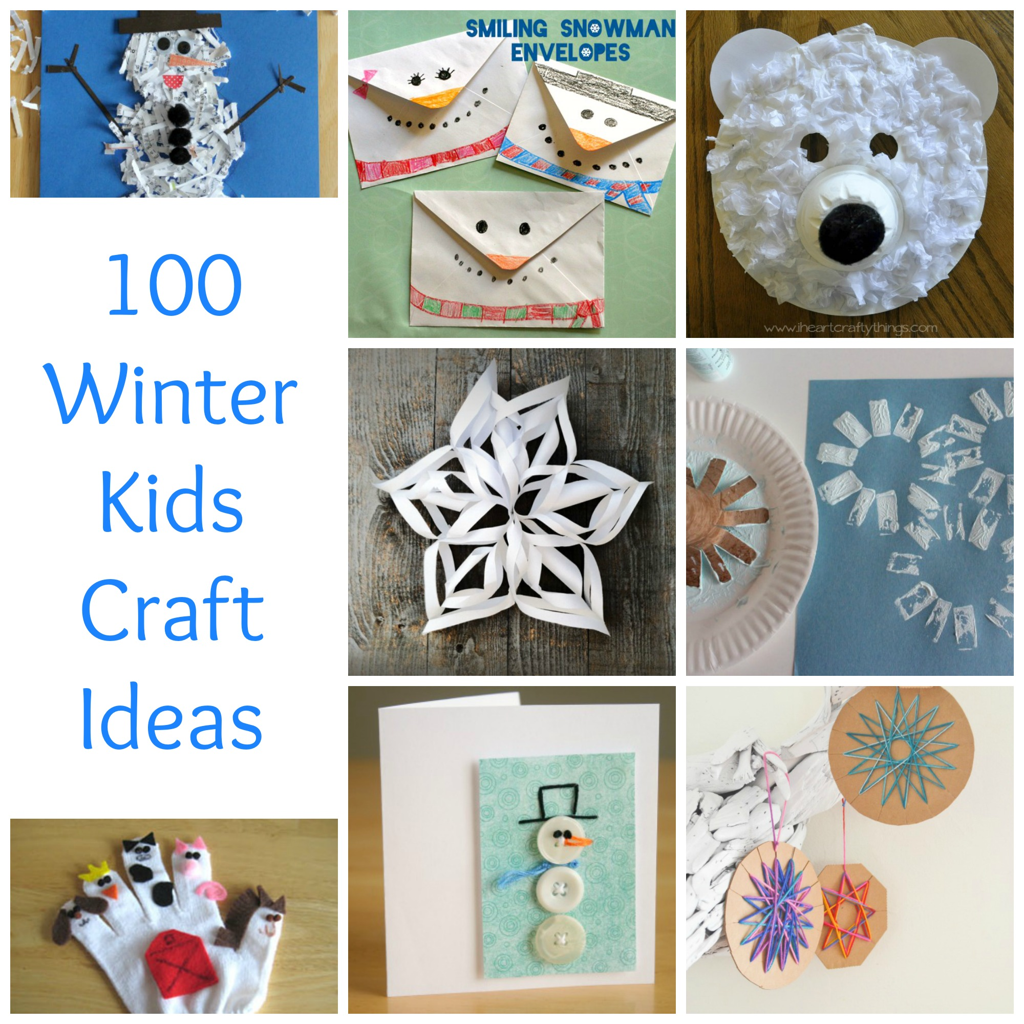 winter craft ideas 100 winter craft ideas make and takes 3236