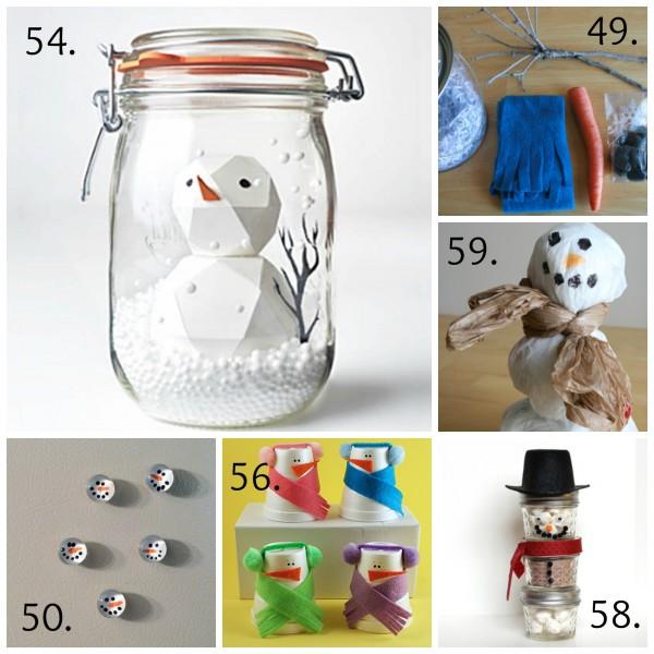 Snowman Winter Kids Crafts