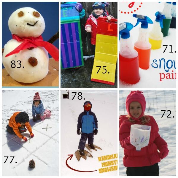 Snow Day Winter Kids Crafts