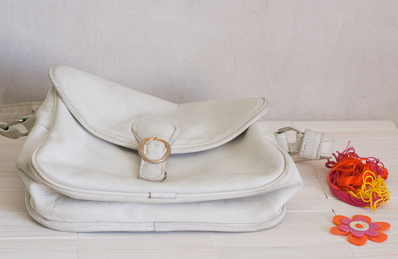 Update a Vintage Purse by Francine Clouden for Make and Takes