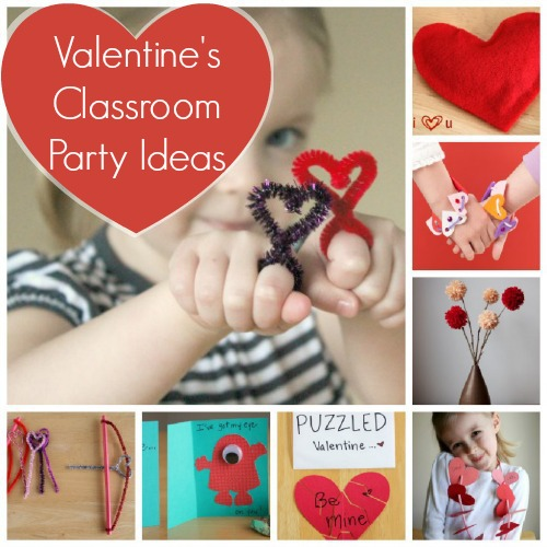 Toddler Classroom Valentine Ideas ~ Valentine s day classroom party ideas make and takes